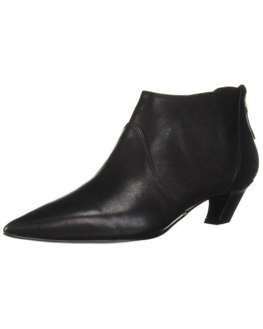 Nine West Black YAAKOVAH Leather Stiefelette