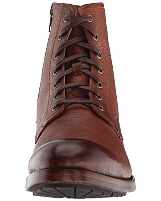 d04552749bd Men's Brown Bowery Lace Up Combat Boot