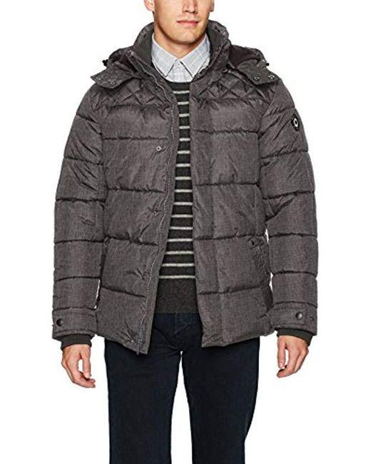 Ben Sherman - Gray Bomber Jacket for Men - Lyst