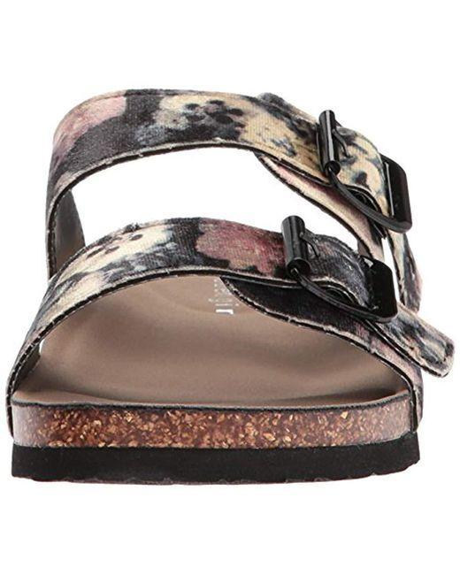 93b7d62c5511 ... Madden Girl - Multicolor Brando-v Flat Sandal - Lyst ...