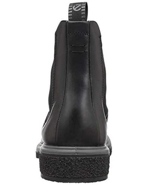 2475d788f1e Men's Black Crepetray Chelsea Boot