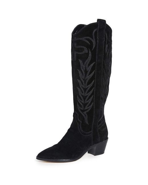 Dolce Vita Black Solei Western Boots