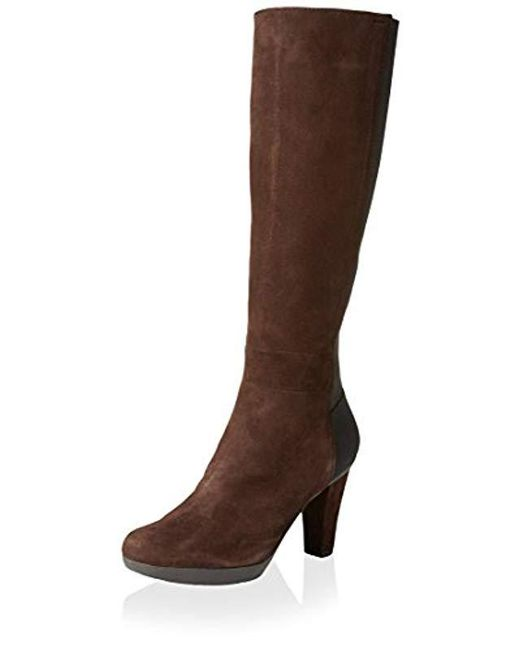 Women's Brown D Inspiration Stiv Stretch Boot