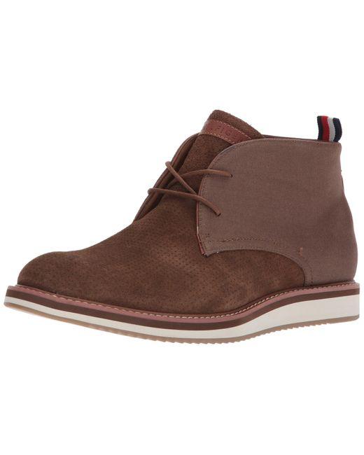 Tommy Hilfiger Brown Jyler Shoe for men