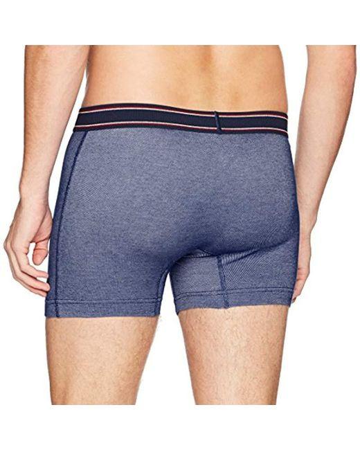 55a65283c891 ... Original Penguin - Blue Cotton Spandex Boxer Brief Underwear for Men -  Lyst