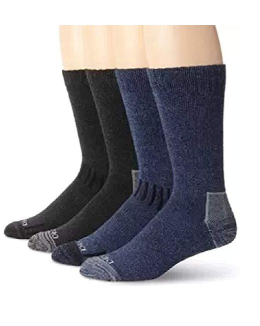 Dickies - Multicolor 4 Pack All Season Marled Moisture Control Crew Socks for Men - Lyst