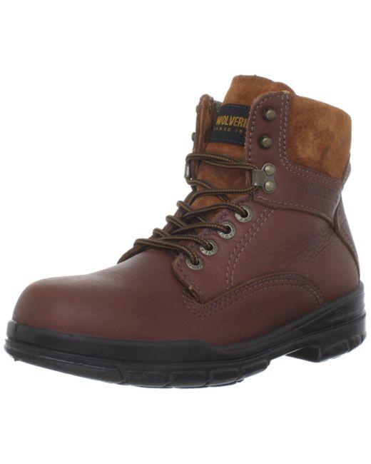 Wolverine Brown W03122 Durashock Sr Boot for men