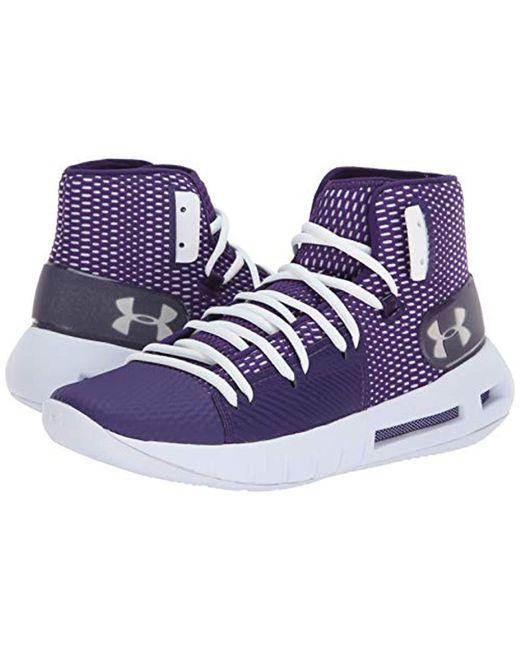 b353e065ced16 Men's Purple Havoc Basketball Shoes