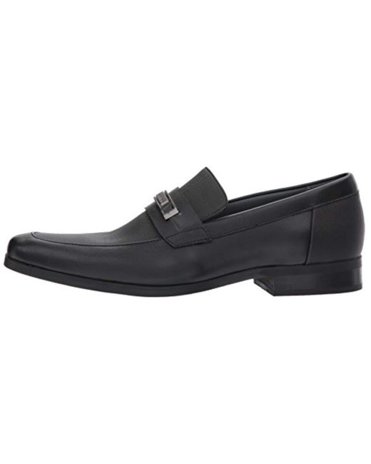 3b2f912ab Men's Black Jameson Soft Leather/city Emboss Slip-on Loafer