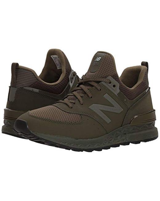brand new 4b7ef 767aa Men's Green 574s Sport Shoe