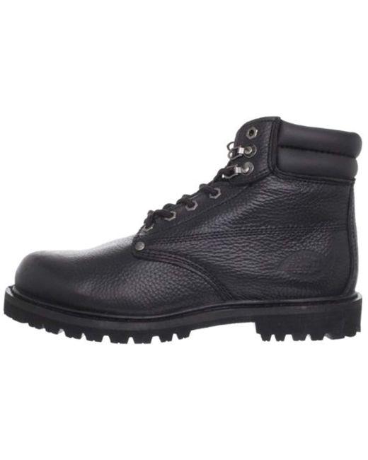 f6147b15bfa82 Men's Black Raider Steel-toe Work Shoe