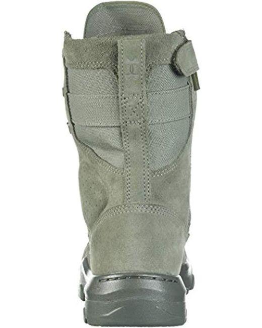 eccf5396ac2 Men's Green Fnp Zip Military Tactical Boot, (385)/sage, 10.5