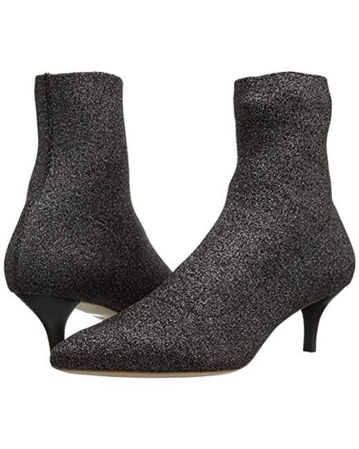 67353952b3f Women's Black Kassidy Kitten Heel Stretch Bootie