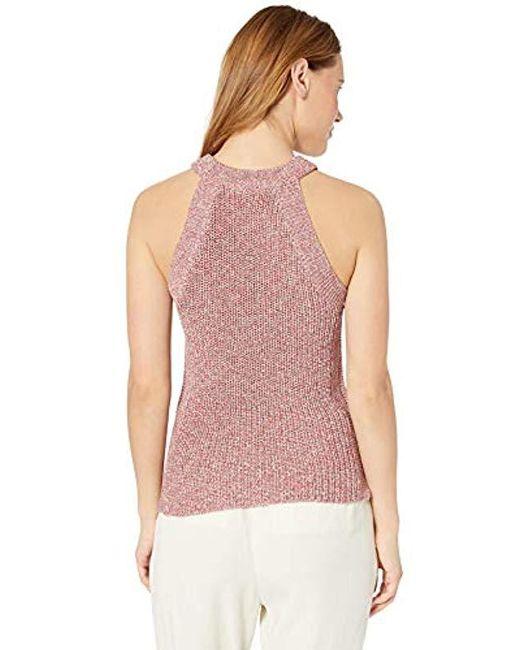 Ella Moss Womens Margot Tank Sweater Top