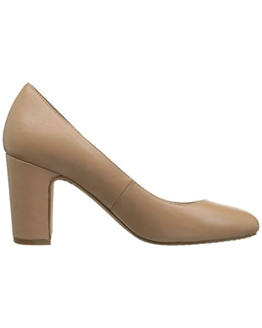 c3c7fbdbaa867 Women's Natural Coyle Round Toe Block Heel Pump-high