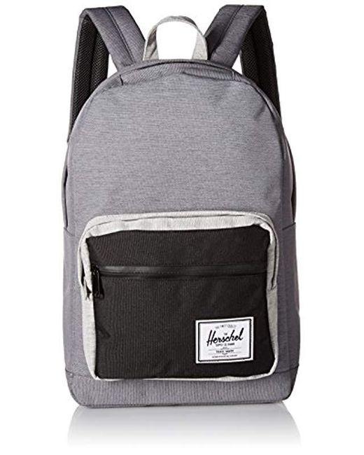 12470efa27b9 Herschel Supply Co. - Gray Pop Quiz Mid-volume Backpack for Men - Lyst ...