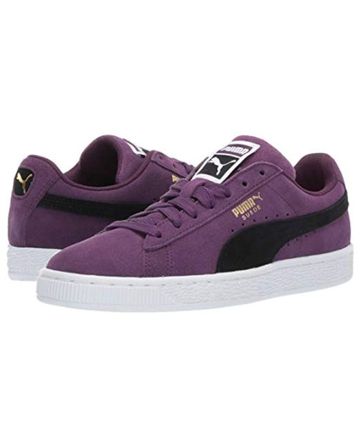 new product 2b8c5 2cf8e Men's Purple Suede Classic Sneaker