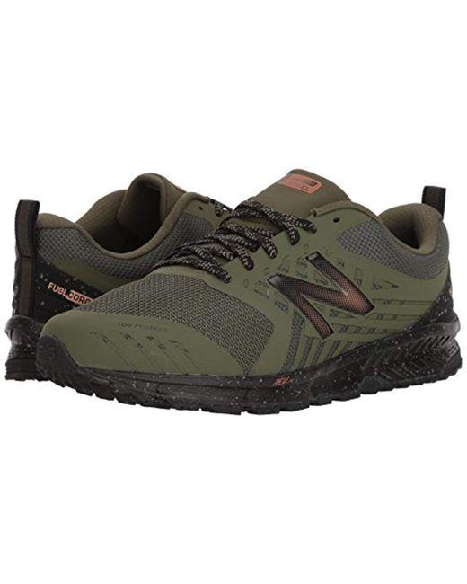 69ba0915c764a ... New Balance Green Nitrel V1 Fuelcore Trail Running Shoe for men ...