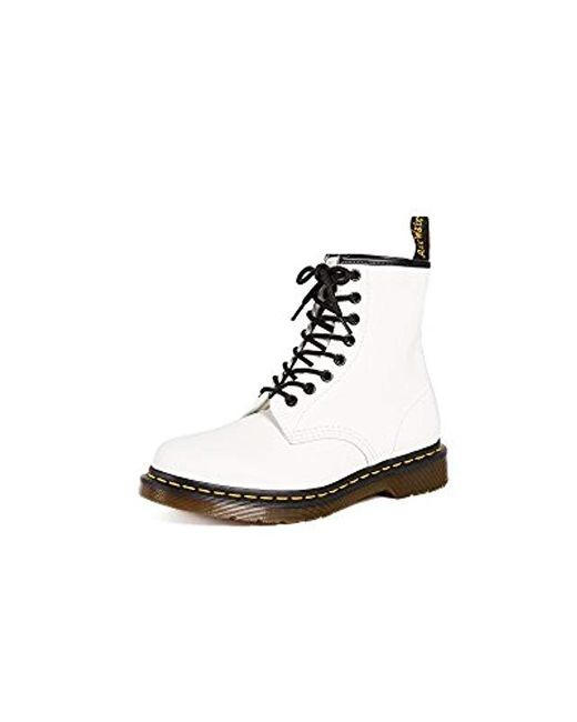 0f4fd840575 Dr. Martens - White 1460 8-eye Boot - Lyst ...