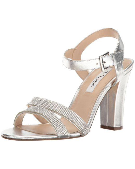 Nina Metallic Sylvie Dress Sandal