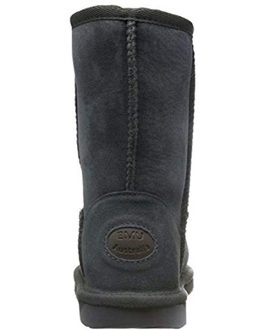 eda6ce2624d ... Emu Australia - Gray Stinger Water-resistant Boot - Lyst ...