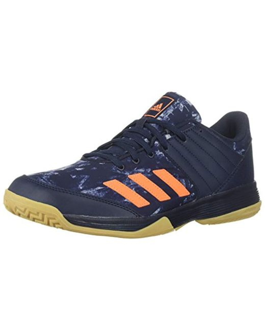 pretty nice 579ad 54ff6 Adidas - Gray Ligra 5 Volleyball Shoe, Legend Inkhi-res Red ...