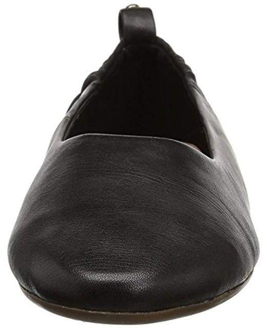c903250f5d26 Lyst - Taryn Rose Bess Ballet Flat in Black - Save 10%