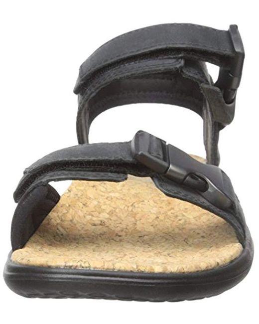0a48a5a0b ... Teva - Black Terra-float Universal Lux Leather Sandal for Men - Lyst ...
