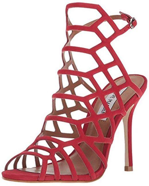 Steve Madden Red Slithur Dress Sandal