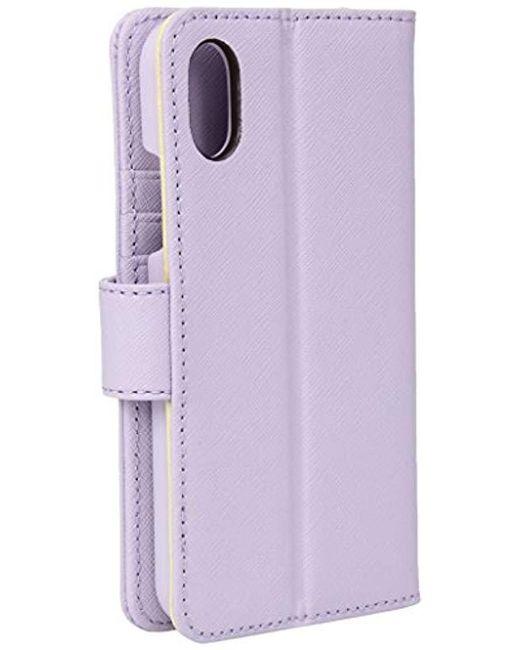 cheap for discount d3976 74198 Women's Purple Fashion Folio Phone Case X, 577