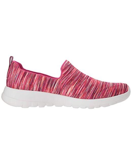 Women's Pink Go Walk Joy 15615 Wide Sneaker