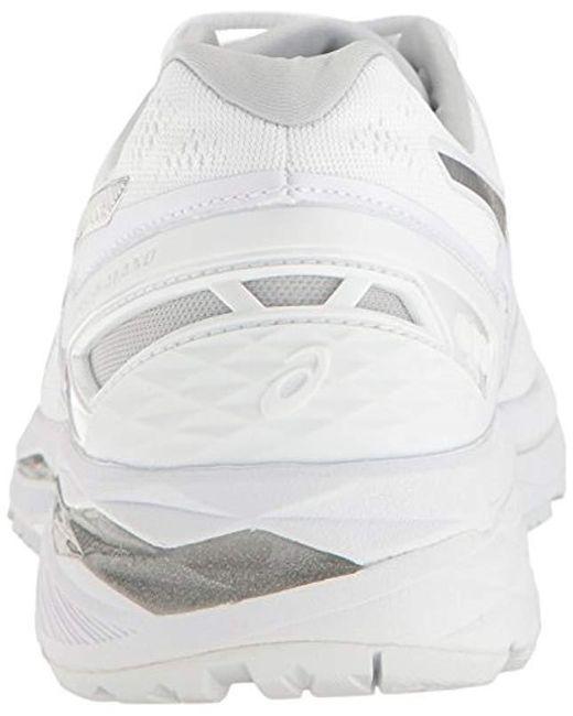 various colors 8839b 44bb3 Men's White Gel-kayano 23 Running Shoe