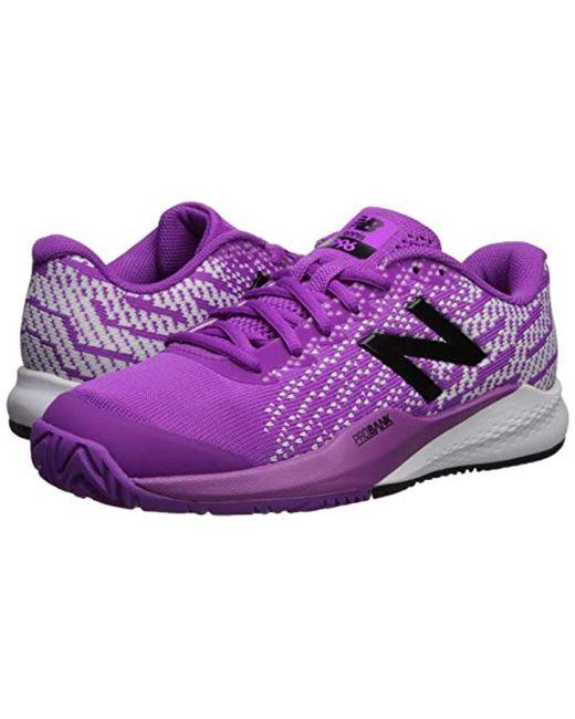 Women's Purple 996v3 Hard Court Tennis Shoe