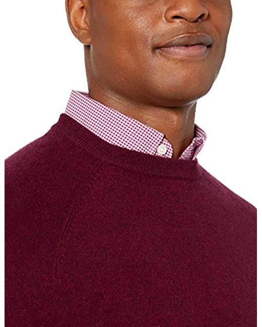 Brand Buttoned Down Mens Standard 100/% Cashmere V-Neck Sweater