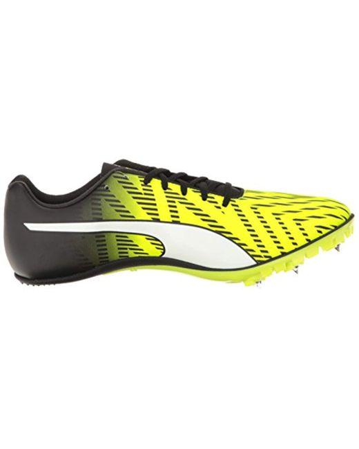 ... PUMA - Yellow Evospeed Sprint 7 Running Shoes for Men - Lyst ... eb9b60cad