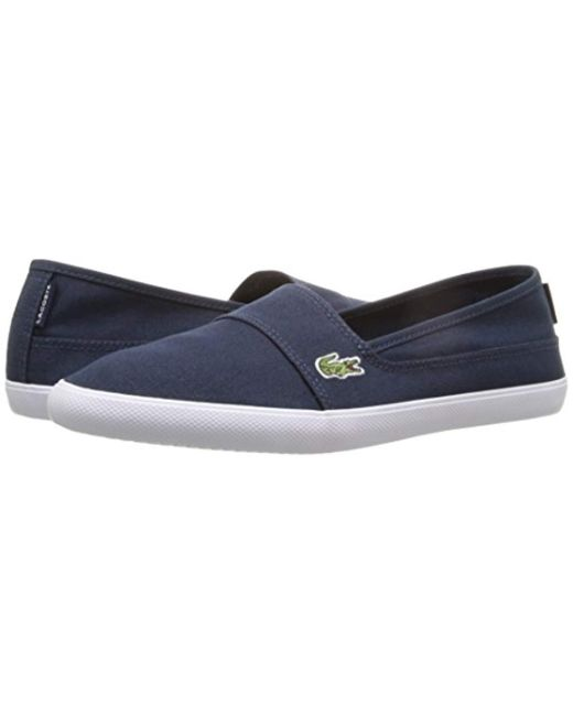 Lacoste Marice BL 2 Men/'s Croc Logo Casual Slip On Loafer shoes Sneakers Black