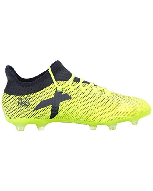94cfc695 Men's Yellow X 17.2 Firm Ground Cleats Soccer Shoe