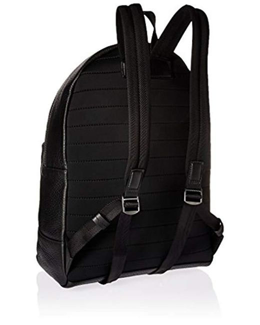 838fc443088 ... BOSS - Hugo By Victorian Leather Backpack, Black, One Size for Men -  Lyst ...
