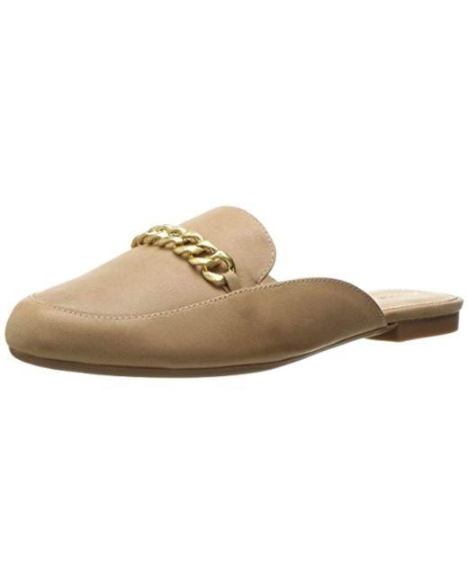 Adrienne Vittadini - Multicolor Footwear Davey Moc Slide W/ Chain Mule - Lyst