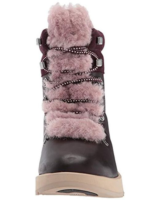 9ce1caa387d Women's Viki Waterproof Leather Lace Up Boots