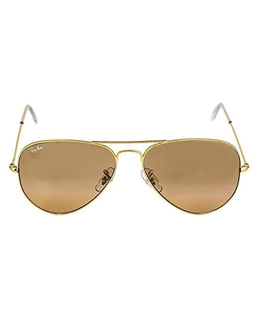 Ray-Ban - Multicolor , Rb3025, Large Metal Aviator Sunglasses 58 Mm, G-15 Lenses, 100% Uv Protection, Non-polarized Sunglasses - Lyst
