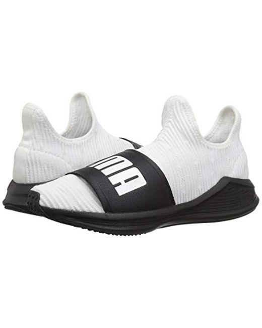 PUMA Rubber Fierce Slide Ankle high Training Shoes in White