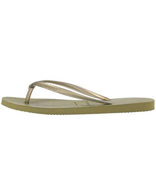 2a062db5ed0 Lyst - Havaianas Slim Flip Flop Sandal