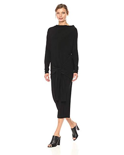 Norma Kamali - Black Four Sleeve All In One Dress - Lyst