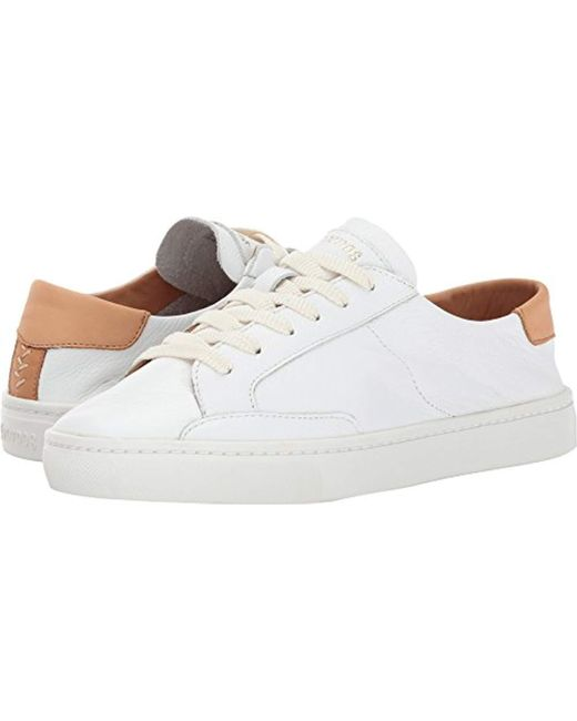 Soludos - White Ibiza Classic Lace Up Sneaker - Lyst