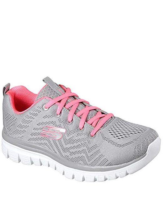 Skechers - Gray Graceful-get Connected Sneaker - Lyst