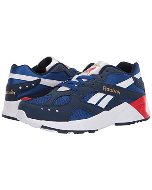 58e0dc9bfa9c Lyst - Reebok Aztrek Sneaker in Blue for Men - Save 35%