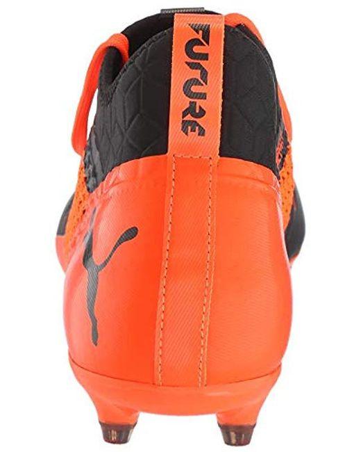 255e12895b788d ... PUMA - Orange Future 2.3 Netfit Fg ag Soccer Shoe for Men - Lyst ...
