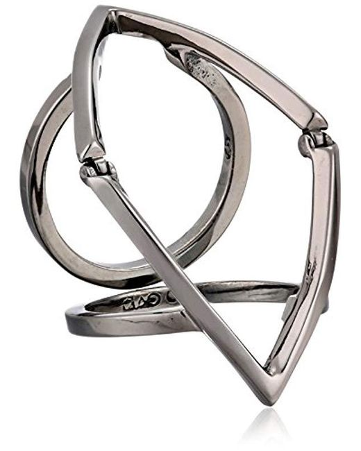 Campbell Multicolor Marquee Full Finger Ring
