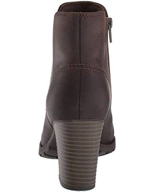 d21e6a0dd62ca Clarks Brown Verona Trish Fashion Boot Clarks Brown Verona Trish Fashion  Boot ...